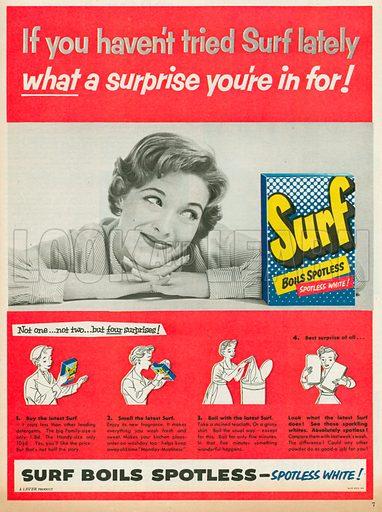 Surf Advertisement, 1955.