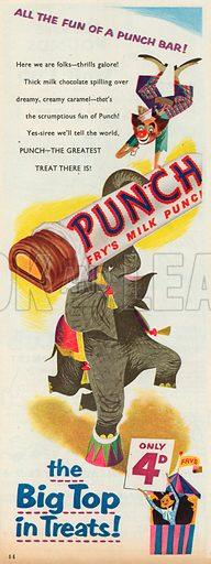 Punch Advertisement, 1955.