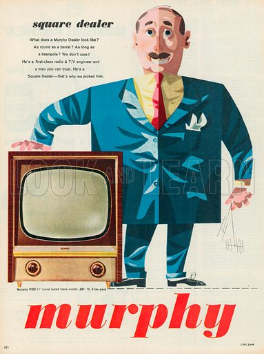 Murphy Television Advertisement, 1955.