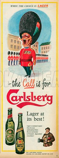 Carlsberg Advertisement, 1955.
