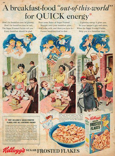 Kellogg's Advertisement, 1955.