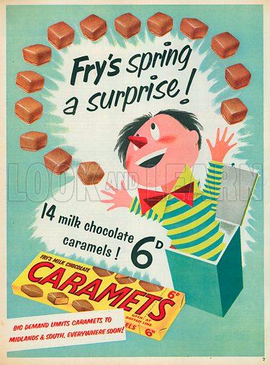 Caramets Advertisement, 1955.