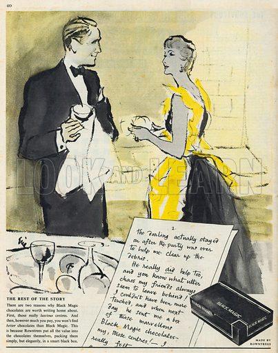 Black Magic Advertisement, 1954.