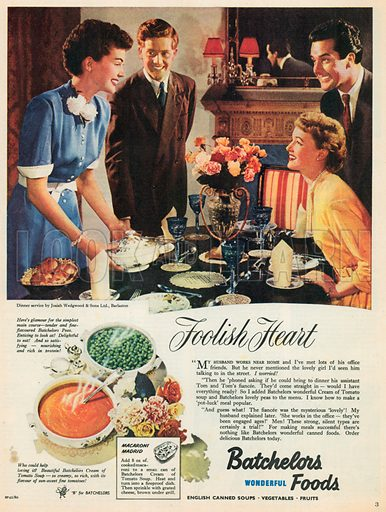 Batchelors Advertisement, 1953.