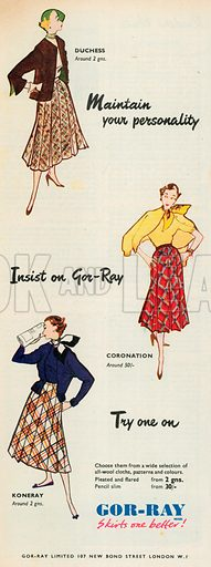 Gor-Ray Advertisment, 1952.