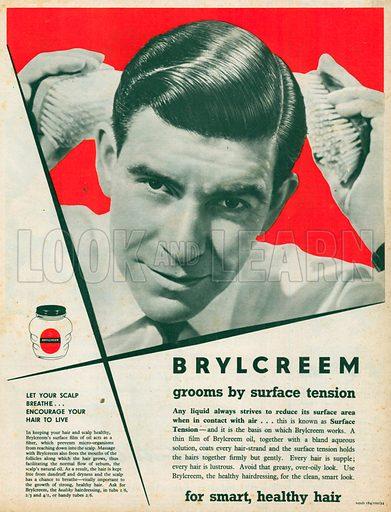 Brylcreem Advertisement, 1954.