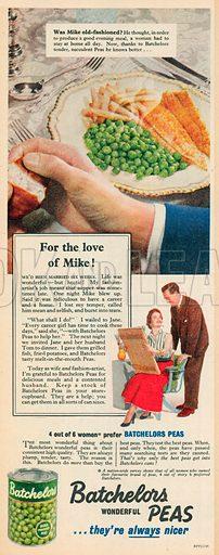 Batchelors Advertisement, 1954.