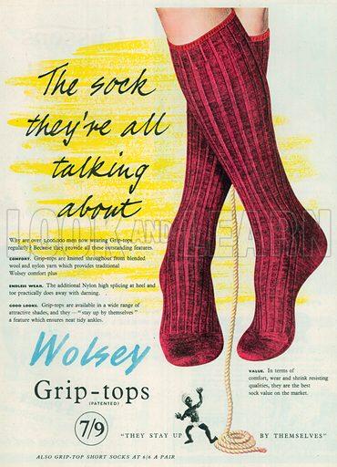 Wolsey Advertisement, 1954.