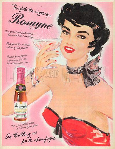 Rosayne Advertisement, 1954.