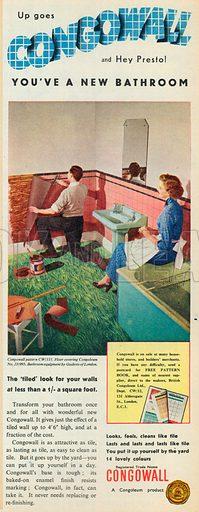 Congowall Advertisement, 1954.