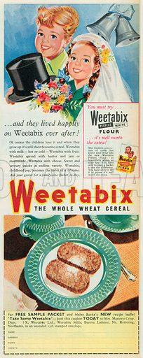 Weetabix Advertisement, 1954.