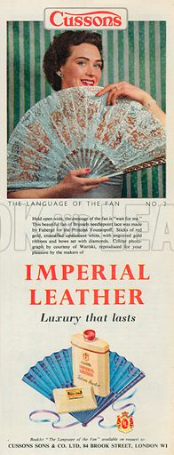 Imperial Leather Advertisement, 1954.