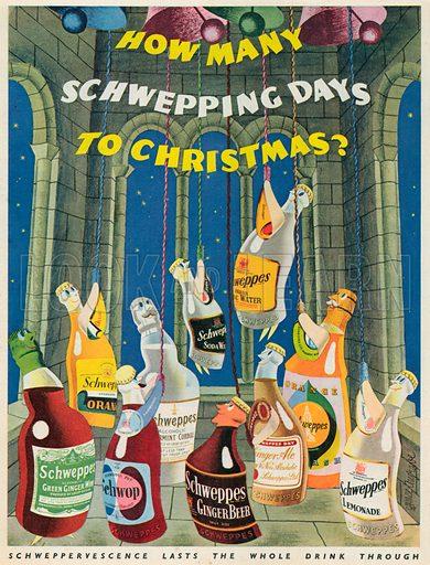 Schweppes Advertisement, 1953.