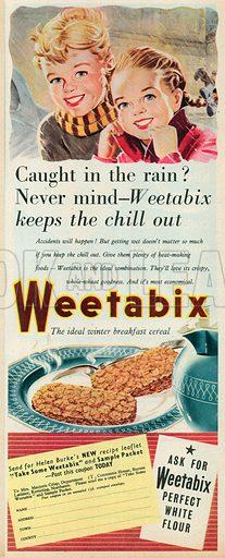 Weetabix Advertisement, 1953.