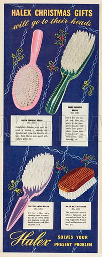 Halex Advertisement, 1953.