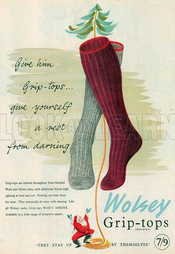 Wolsey Advertisement, 1953.