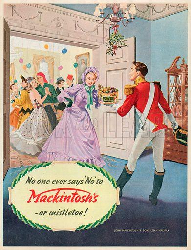 Mackintosh's Quality Street Advertisement, 1953.