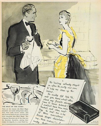 Black Magic Advertisement, 1953.