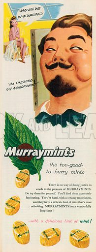 Murraymints Advertisement, 1956.