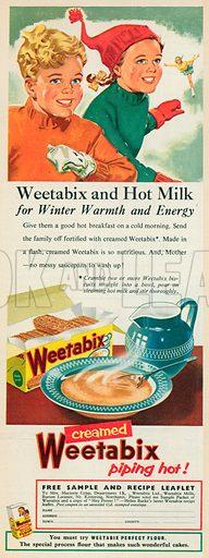 Weetabix Advertisement, 1956.