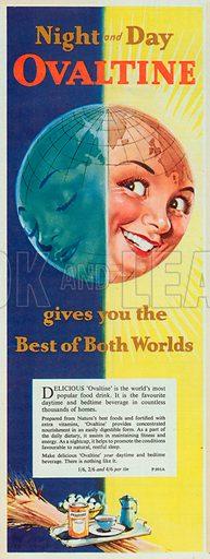 Ovaltine Advertisement, 1956.