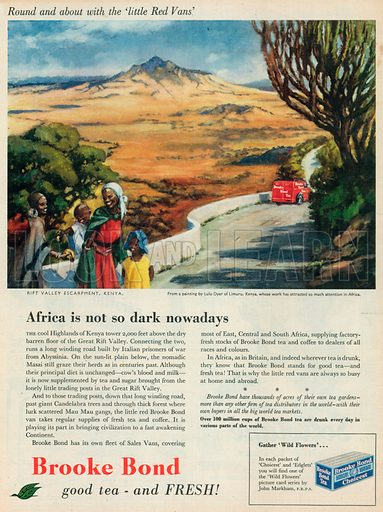 Brooke Bond Advertisement, 1956.