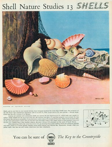 Shell Advertisement, 1956.