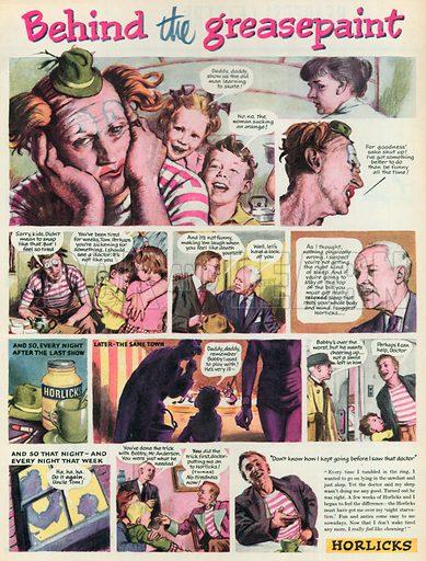 Horlicks Advertisement, 1955.