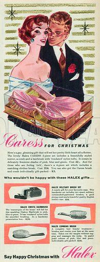 Halex Advertisement, 1955.