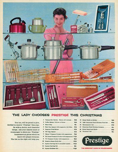 Prestige Advertisement, 1955.