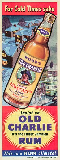 Wood's Old Charlie Advertisement, 1955.