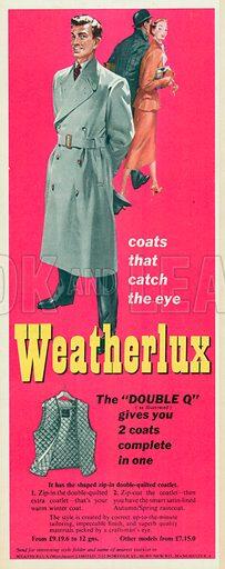 Weatherlux Advertisement, 1955.