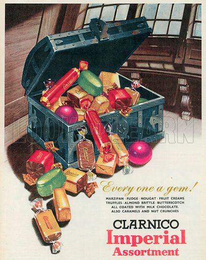 Clarnico Imperial Assortment Advertisement, 1955.