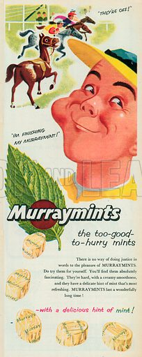 Murraymints Advertisement, 1955.