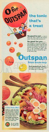 Outspan Advertisement, 1955.