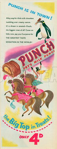 Punch Advertisement, 1955.