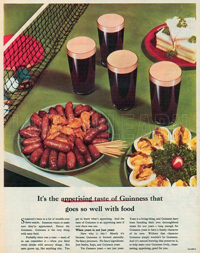 Guinness Advertisement, 1955.
