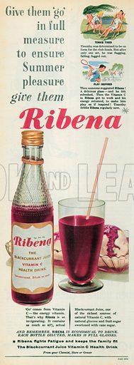 Ribena Advertisement, 1955.