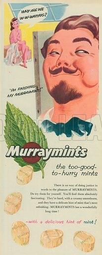 Murraymints Advertisement, 1955.