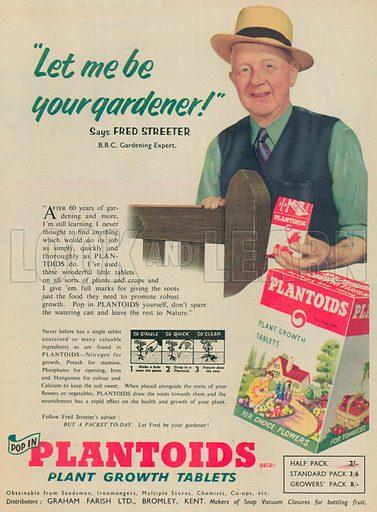 Plantoids Advertisement, 1955.