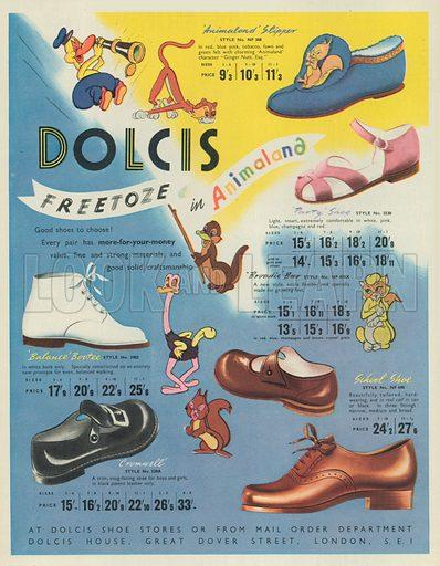 Dolcis Advertisement, 1949.
