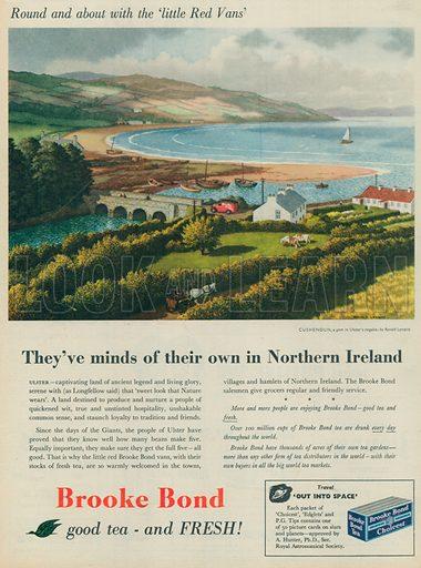 Brooke Bond Tea Advertisement, 1956.