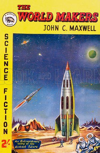 The World Makers by John C. Maxwell, John Spencer (Badger Books SF3), 1958.