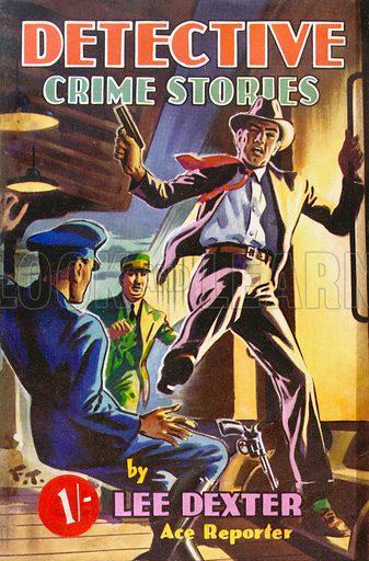 Detective Crime Stories by Lee Dexter, Curtis Warren, 1949.