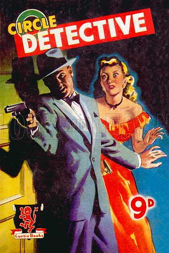 Circle Detective (Mohave City Clean Up by Don Forde), Curtis Warren, 1950.