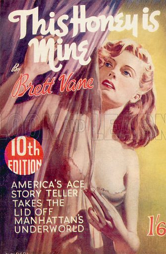 This Honey is Mine by Brett Vane, Curtis Warren, 1950.