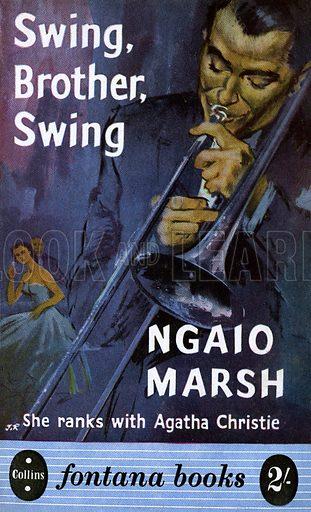 Swing, Brother, Swing by Ngaio Marsh, Fontana Books 93, 1956.