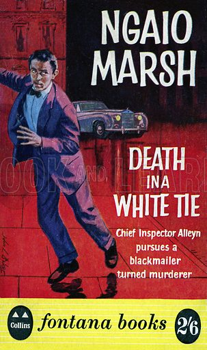 Death in a White Tie by Ngaio Marsh, Fontana Books 388, 1960.