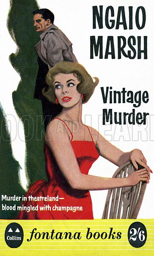 Vintage Murder by Ngaio Marsh, Fontana Books 503, 1961.