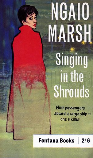Singing in the Shrouds by Ngaio Marsh, Fontana Books 675, 1962.